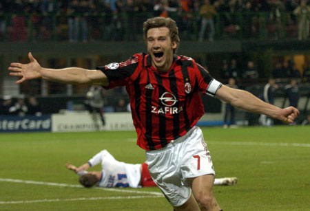 Milan legend Shevchenko retires at the age of 35
