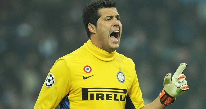 Julio Cesar set to leave Inter this summer