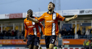 Alex Lawless scored the winner in Luton's 1-0 victory over Wolves