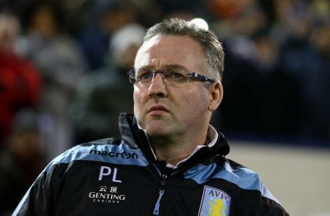 Paul Lambert is under-pressure at Villa
