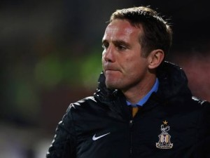Phil Parkinson's Bradford defeated Aston Villa 3-1 in the Capitol One Cup