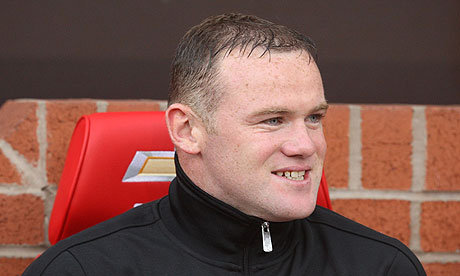 Wayne Rooney enjoyed a mixed night at Old Trafford on Wednesday