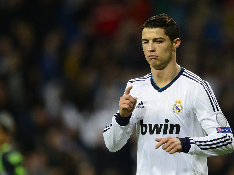 CR7 is coming to get you Fergie!