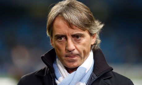 Roberto Mancini is under pressure as his side face Leeds on Sunday