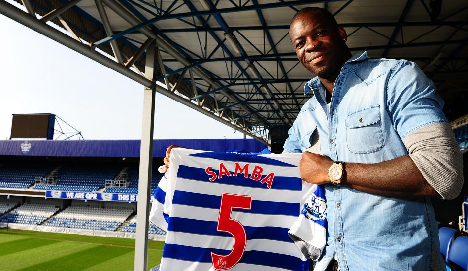 Christopher Samba could make his QPR debut against Norwich on Saturday