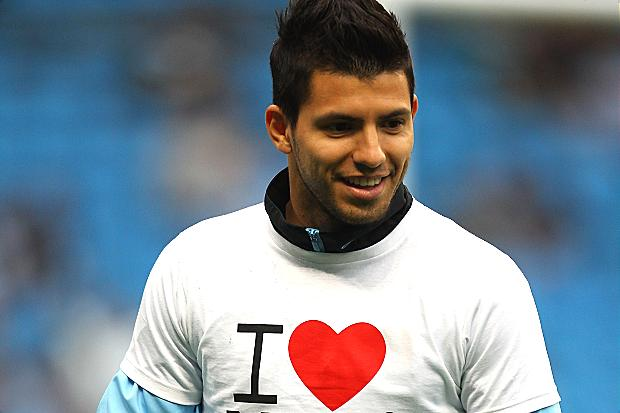 Sergio Aguero scored a brace for City against Leeds in a 4-0 victory