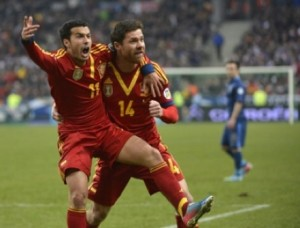 Amazing Spanish win against France 0-1 in Paris