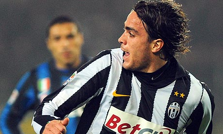 Alessandro Matri played a key part in Juve's 2-0 victory over Celtic