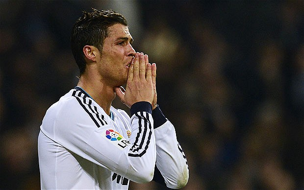 Cristiano Ronaldo helped knock his old team out of the Champions League