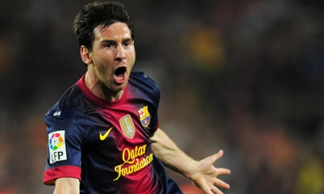Lionel Messi was again the hero as Barcelona defeated AC Milan 4-0