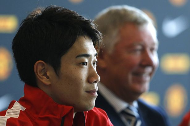 Shinji Kagawa scored a hat-trick in Manchester United's 4-0 victory over Norwich