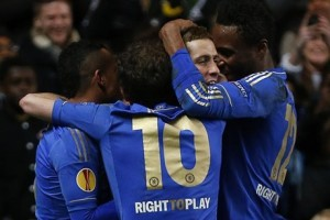 Chelsea 3 Steaua Bucarest 1 Fernando Torres, Juan Matta y John Terry back the series