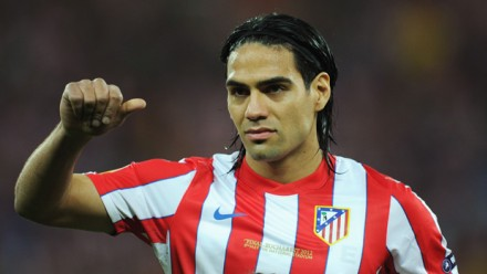 Radamel Falcao is being linked with a summer move to Premier League Chelsea