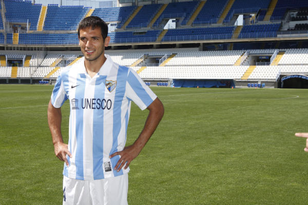 Roque Santa Cruz scored the winning goal for Malaga against Porto