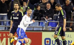 1-1 Zaragoza takes away one point, Real Madrid reacted too late