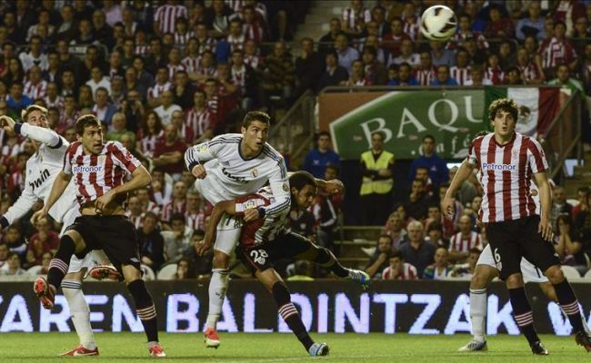 """0-3: Ronaldo´s goals decides the match Athletic vs Madrid played at """"The Cathedral"""""""
