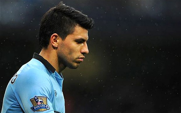 Sergio Aguero came off the bench to score the winner in City's 2-1 victory over United