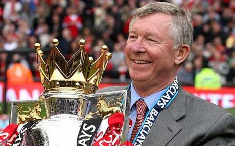 Manchester United boss Sir Alex Ferguson could claim another Premier League title on Monday night
