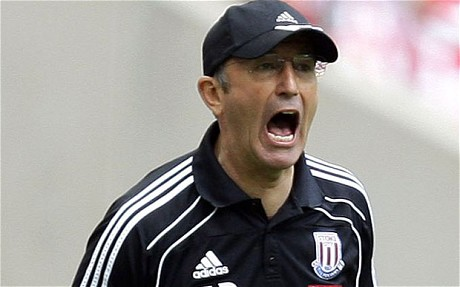 Stoke boss Tony Pulis could leave trhe Britannia Stadium in the near future