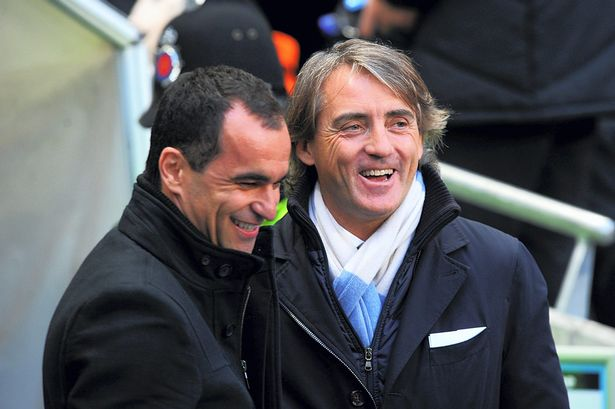 Roberto Martinez and Roberto Mancini will both be looking for victory in the FA Cup final
