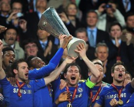 Chelsea defeat Benfica in the Europa League final