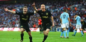 Wigan clinches famous FA Cup victory