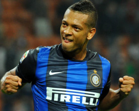 Handanovic and Guarin the columns of Inter Milan