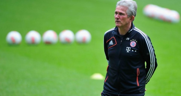Bayern boss Jupp Heynckes could clinch the treble this season