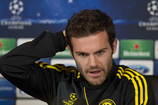 Juan Mata played a crucial in Chelsea's 1-0 win at Manchester United