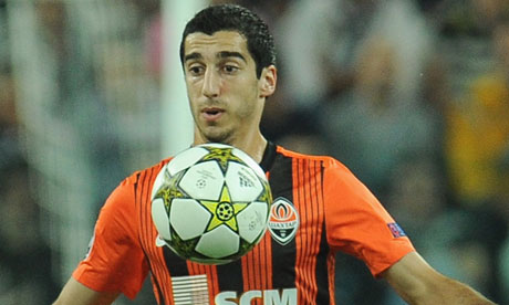 Henrikh Mkhitaryan is Liverpool's main transfer target this summer