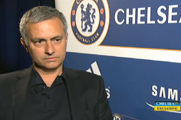 Jose Mourinho will return to Chelsea on Monday
