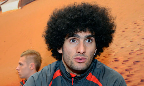 Marouane Fellaini is wanted by Arsenal