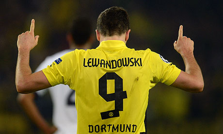 Dortmund's Robert Lewandowski is one of the most in-demand players this summer