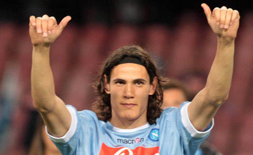 Edinson Cavani looks set to sign for Real Madrid
