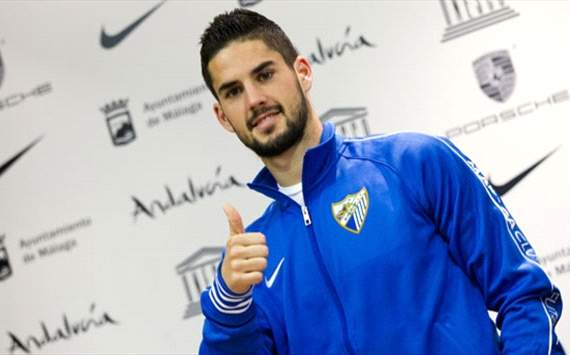 Isco is a target for real Madrid and Manchester City