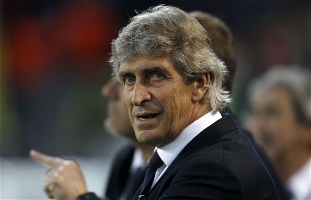 Manuel Pellegrini is the new boss at Manchester City