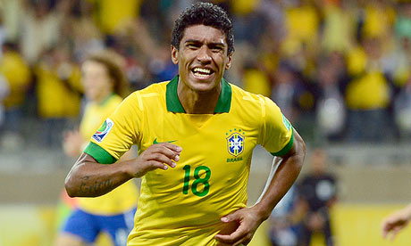 Paulinho has completed his move to Tottenham