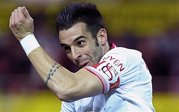 Alvaro Negredo is being linked with a move to Manchester City