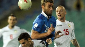 Italy Bulgaria World Cup Qualifier