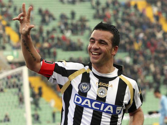 Antonio Di Natale rejected AC Milan