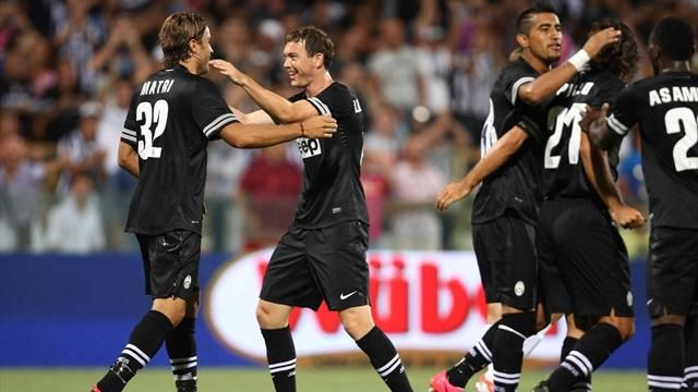 International Club Friendly: Juventus 2-0 Malaga