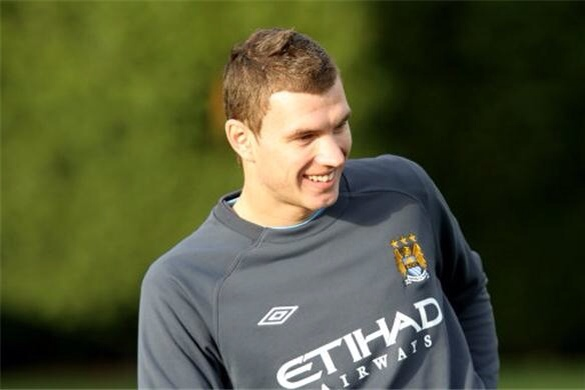 Juventus choose Edin Dzeko