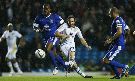 Leeds surprise Everton, as Villa shock City in Capital One Cup