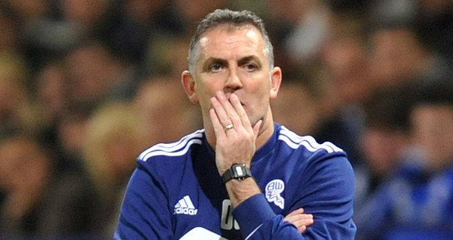 Bolton Wanderers sack boss Owen Coyle