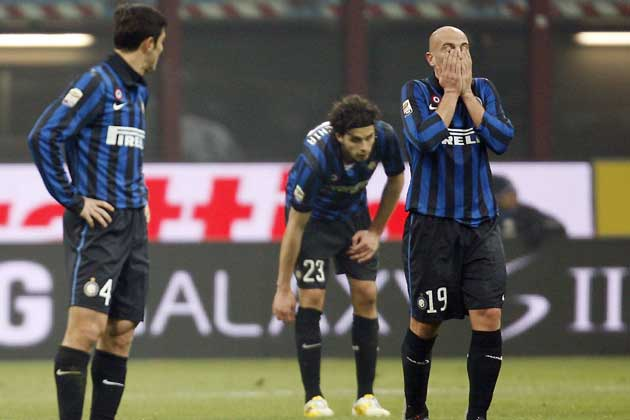 Napoli win but Inter Milan stumble again