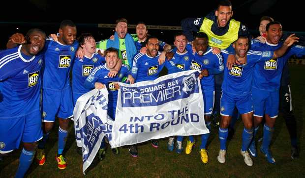 Non-league clubs hoping to progress into the FA Cup fifth round