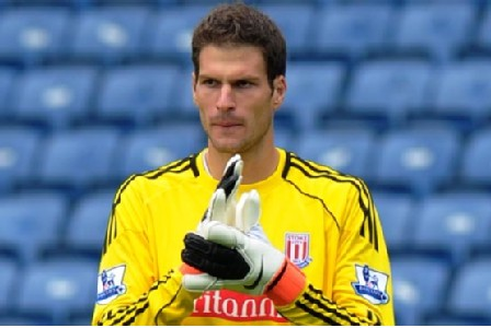 Stoke keeper Asmir Begovic set to leave the Britannia Stadium