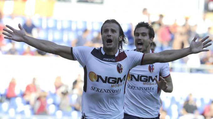 Inter Milan-Bologna 0-1. Gilardino: decisive goal.
