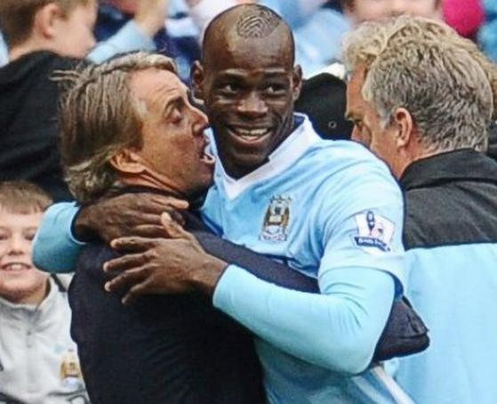 "Mancini: ""Balotelli is improved, but he will never completely change""."