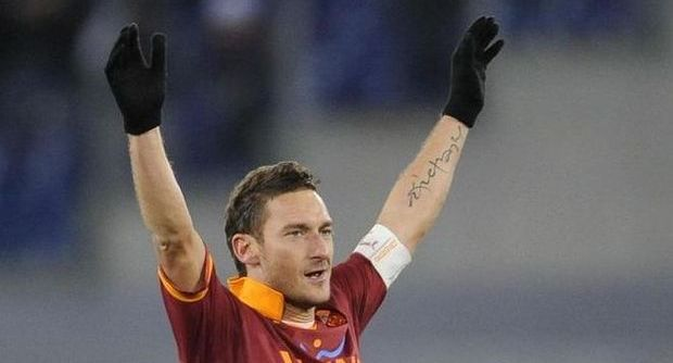 Totti as Nordahal: 225 goals